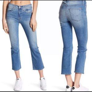 Hudson Brix high rise crop jeans NWOT, 24